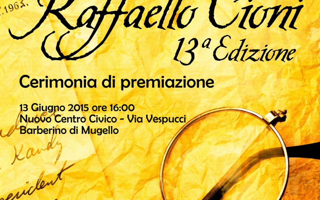 Opere da tutta Italia per un'edizione del Premio Cioni davvero di alta qualità. Ecco tutti i vincitori