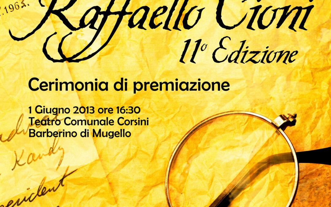 Premio nazionale di poesia Raffaello Cioni, un'edizione nel segno della qualità