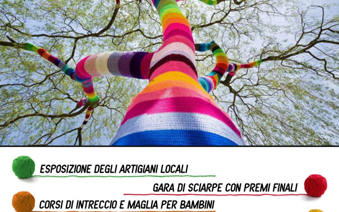 """""""Un filo di…"""": l'urban knitting invade Barberino"""