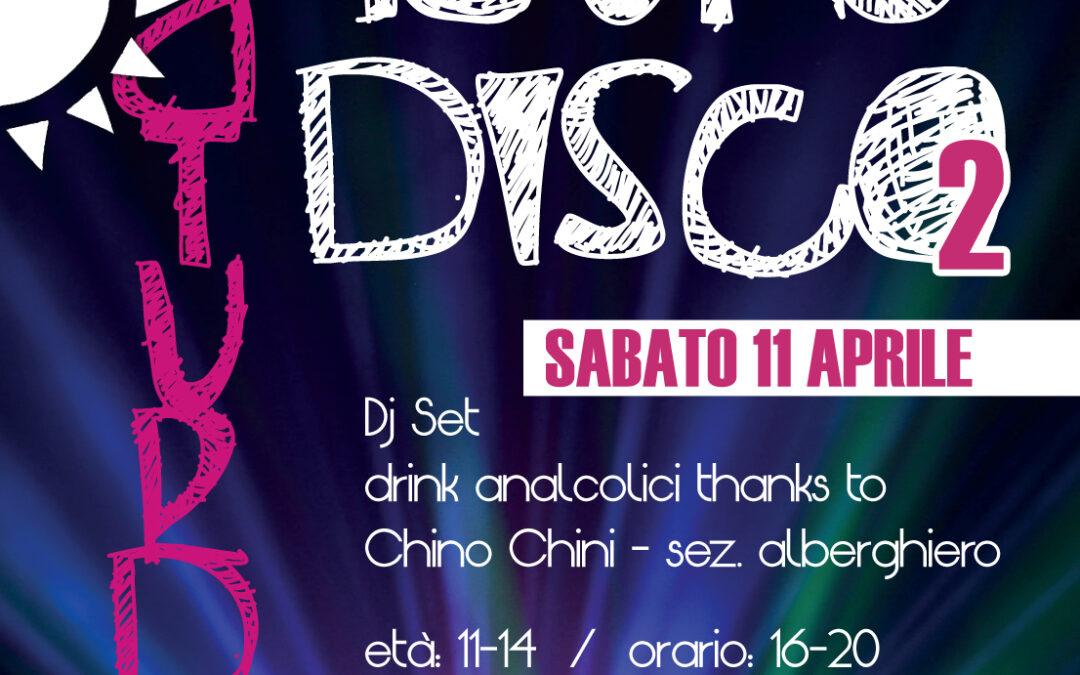 Sabato 11 tutti in pista con il Saturday Young Disco al Centro Civico