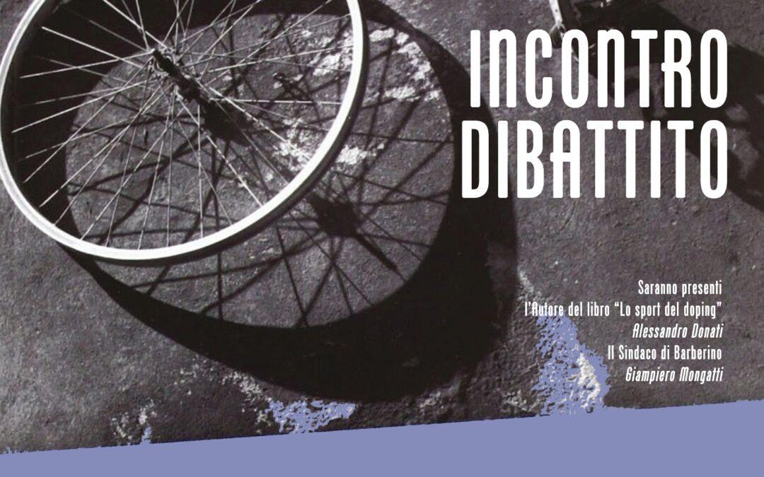 Sabato 13 Giugno un incontro sul tema del Doping
