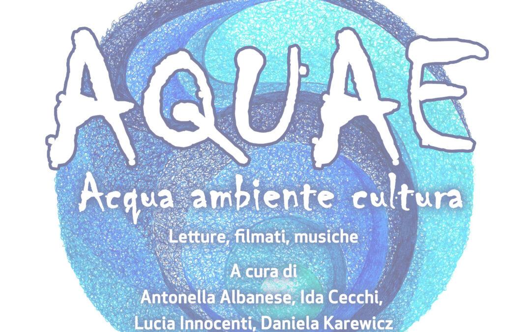 Aquae: l'acqua protagonista  dell'evento che si è svolto al nuovo Centro Civico