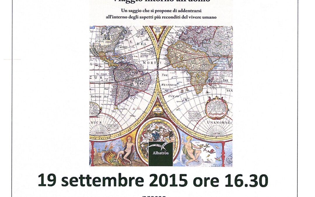 """Presentazione del libro di Michele Judica """"Viaggio intorno all'uomo"""""""
