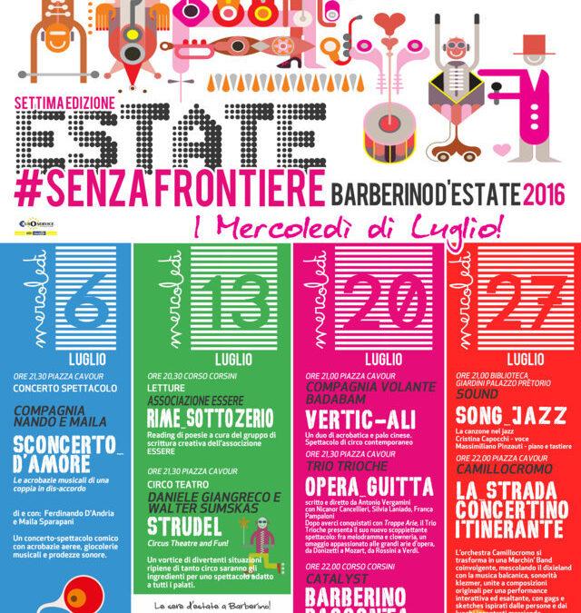 """La settima """"Estate senza frontiere"""" di Barberino!"""