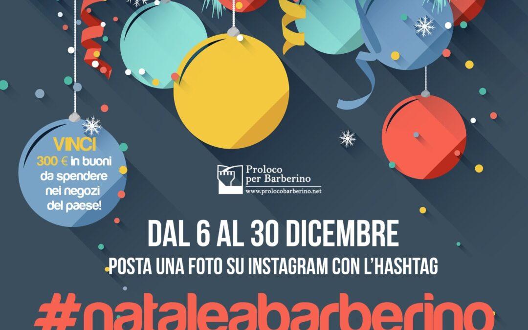 Il Natale diventa social con #nataleabarberino