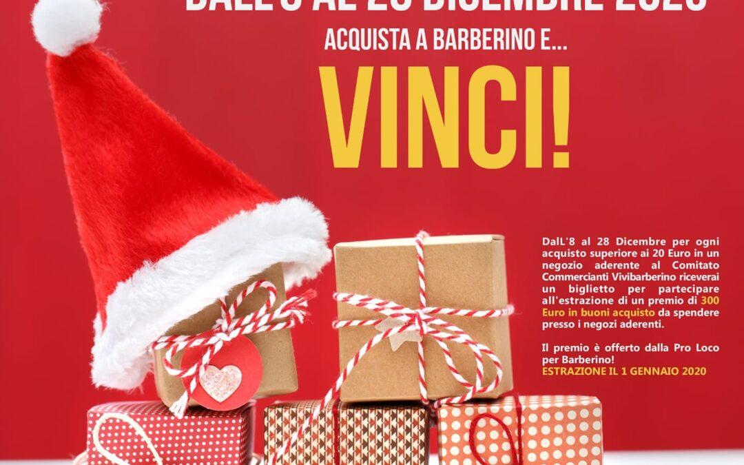 Acquista e Vinci con il Natale a Barberino